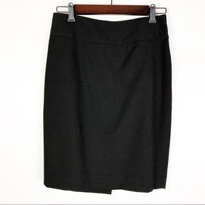 The Limited Black High Waist Skirt